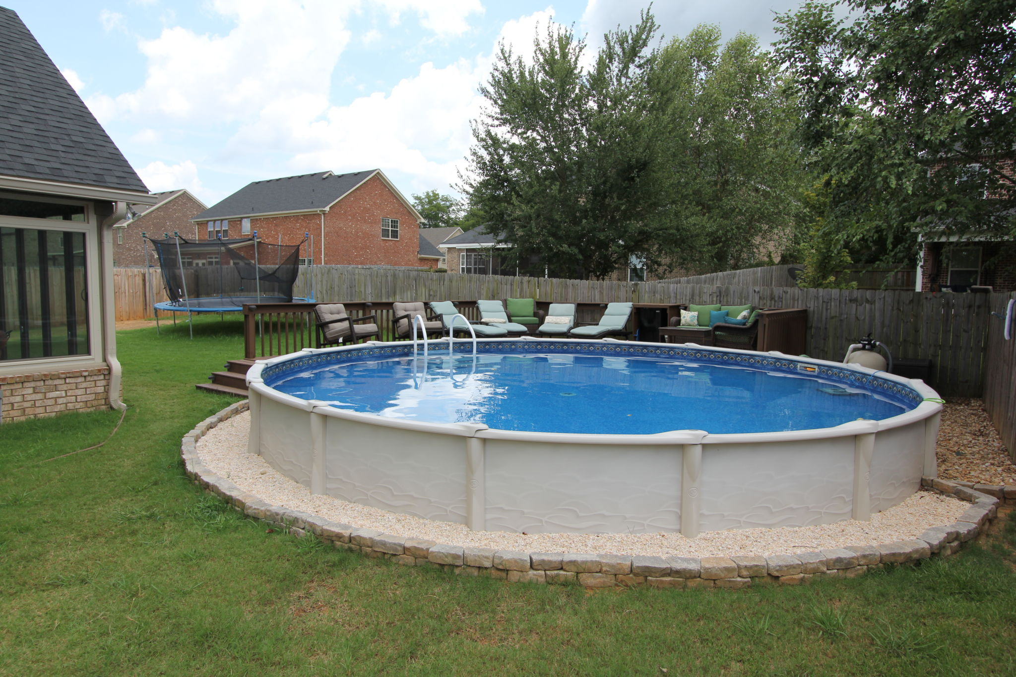 Aboveground pools the most suitable home design for Most popular above ground pools